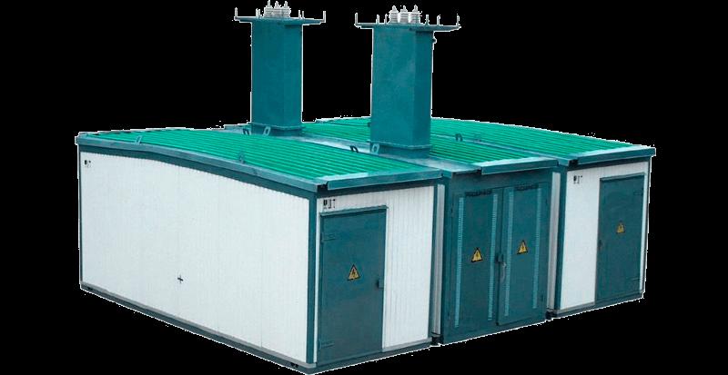 Комплектная трансформаторная подстанция типа КТПГС-100-1000