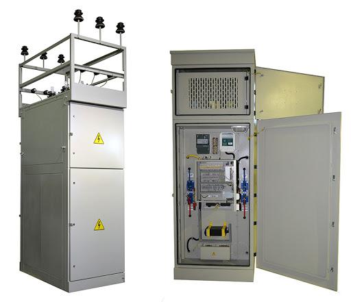 Ячейка комплектная наружной установки отдельностоящая ЯКНО-10 кВ